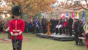 John Abbott College remembers war veterans