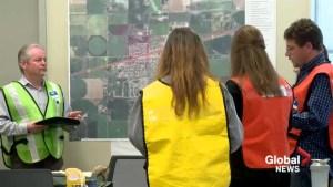 Coaldale officials train for dangerous goods spill in 'Exercise Broken Rail'
