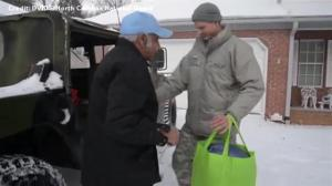 National Guard troops deploy to help areas of US East Coast battered by winter storm
