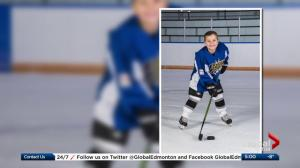 Alberta hockey team to pay tribute to young player killed in crash