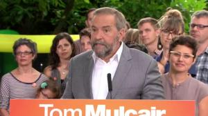 Mulcair discusses cost and effectiveness of childcare plan