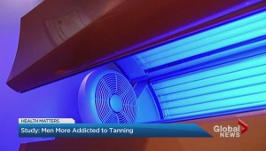 Men are more addicted to tanning than women