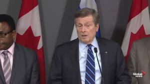 Tory 'cautiously optimistic' about province's Toronto-area transit plan