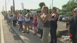 Châteauguay pit bull protest