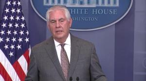 Tillerson: Goal of the U.S. is to 'tighten pressure on the Kim regime'