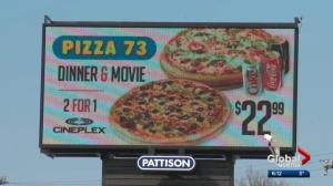 Edmonton's rules on advertising billboards cause confusion