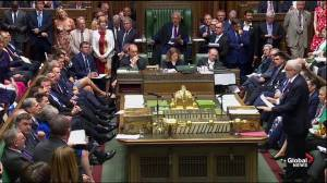 May, Corbyn debate Brexit future on her last day as PM