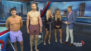 The men's swimwear line worn by NHL players