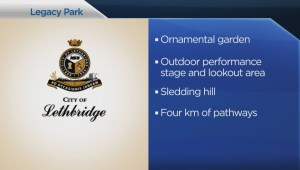 North Lethbridge welcomes 1ST regional park thanks to provincial grant