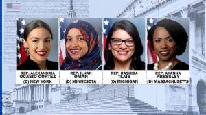 U.S. Congresswomen react to Trump telling them to 'go back' where they came from