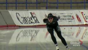 Winter Olympics 2018: Oshawa speed skater making Olympic debut inspires next generation (01:58)