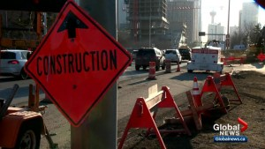 Expect major delays on 9 Avenue S.W. in Calgary amid emergency repairs