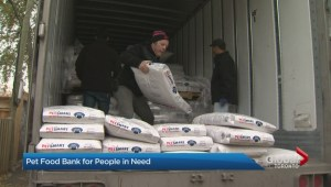 Toronto Pet Food bank receives large scale donation