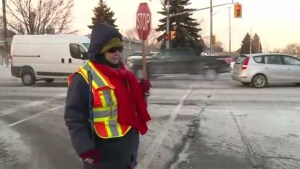 Oshawa crossing guard retires after over 30 years