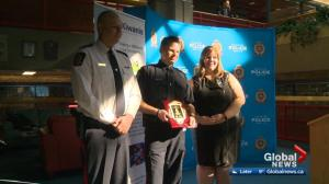 Edmonton officers receives 2018 Top Cop honour