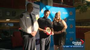 Edmonton officers receives 2018 Top Cop honour