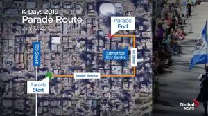 Global Edmonton will live stream 2019 K-Days Parade