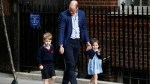 Royal baby: Prince George, Princess Charlotte arrive at hospital to meet new brother
