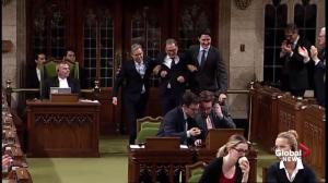 Justin Trudeau introduces Richard Hebert to the House