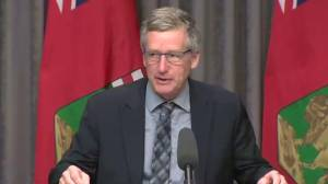 Manitoba's Intrastructure Minister provides intial update on last flood outlook