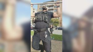 Police officer challenged by Montrealer in park