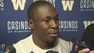 POST GAME: Bombers' Clarence Denmark on Banjo Bowl victory