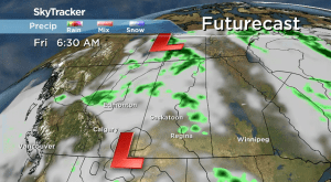 Saskatchewan weather outlook: brief warm-up on the way