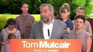 NDP will decriminalize marijuana 'minute we form government' says Mulcair