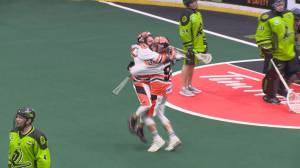 Buffalo Bandits battle back to top Saskatchewan Rush in overtime