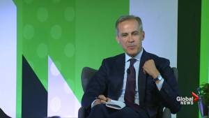 Mark Carney shows support for England with 'Three Lions' lapel pin