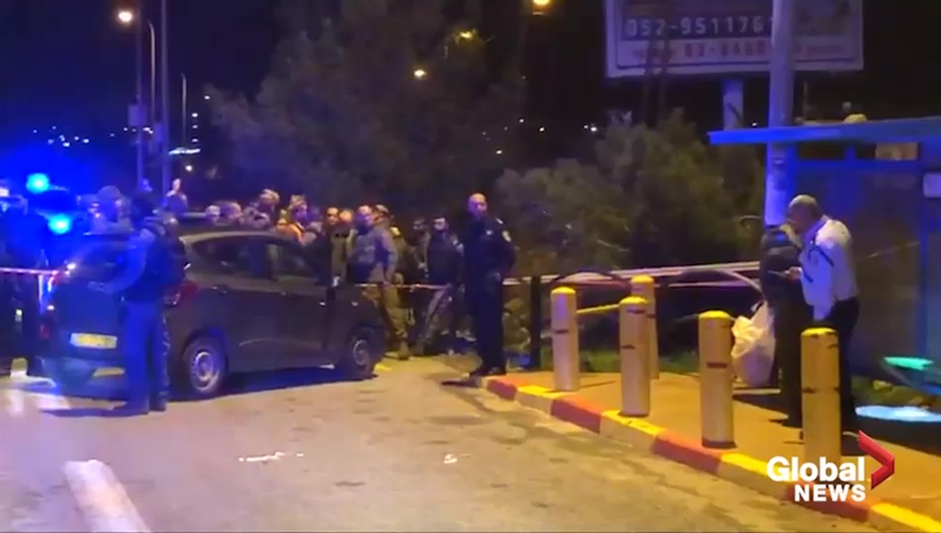 Six Israeli settlers wounded in drive-by shooting in West Bank
