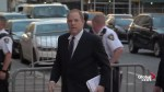 Harvey Weinstein appears at court to face charges from 3rd victim