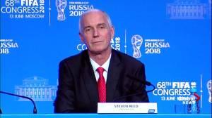 'We were very humbled': Canadian Soccer President on winning FIFA bid
