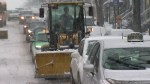 Winter weather strikes Montreal