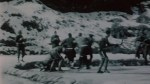 Newsreel explains how hockey game started by Canadian troops interrupted the Korean War
