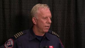 'We just want to really reiterate the safety concerns for people': Regional fire chief on Fort McMurray wildfire