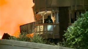 Massive explosion flattens motel in Seattle, Washington