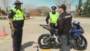 Edmonton motorcyclists reminded to keep noise levels down