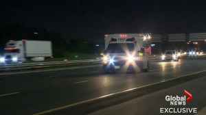 Man leads police on high-speed chase after stealing ambulance in Cambridge
