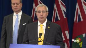Vic Fedeli says commission into finance has deadline of August 30