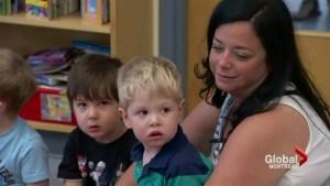 Montrealers on Universal childcare benefits