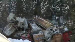 Train derails near B.C.-Alberta border, killing 3 CP Rail workers