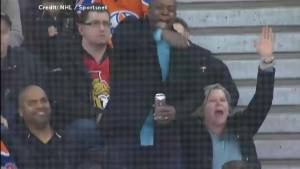 'Beat his a**!': Darnell Nurse's father cheers on son during NHL fight