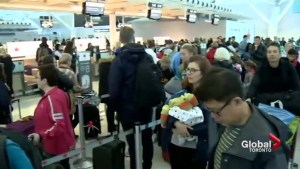 Pearson Airport gets extra busy as families head out of town for March Break