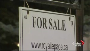 Greater Toronto area real estate sales down
