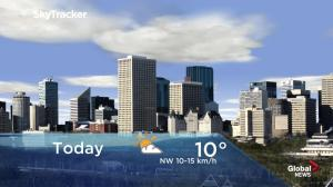 Edmonton early morning weather forecast: Friday, March 22, 2019