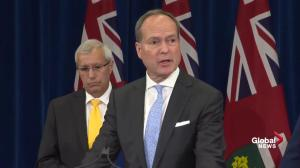Ontario treasury board president discusses finance line-by-line audit