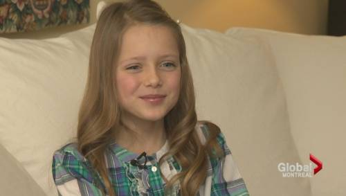 10-year-old Montreal model | Watch News Videos Online