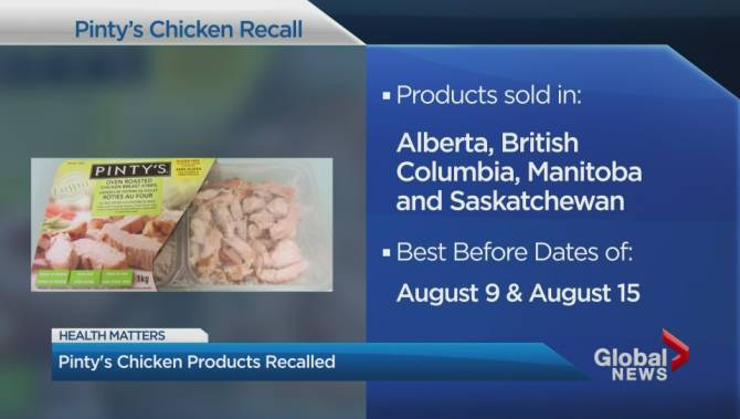 Thousands of kids' water bottles recalled in Canada over