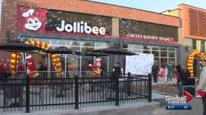 Jollibee opens in Edmonton to huge fanfare